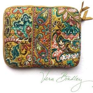VERA BRADLEY Provençal laptop sleeve Paisley Print